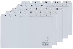 Alfabet HF2 210x297mm PP grijs