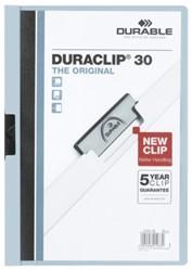 Klemmap Durable 2200 A4 3mm lichtblauw