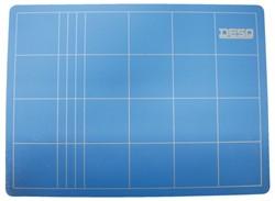 Snijmat Desq A3 450x300mm blauw
