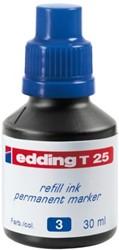 Viltstiftinkt edding T25 blauw