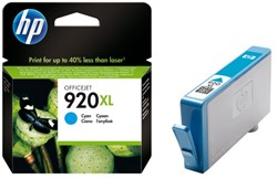 Inkcartridge HP CD972AE 920XL blauw HC
