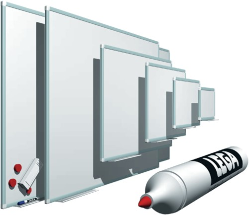 Whiteboard Legamaster Premium+ 90x120cm magnetisch email