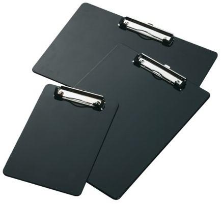 Klembord LPC A4 staand met kopklem zwart-2