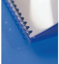 Bindrug Filestrip GBC 21-gaats A4 transparant 100stuks