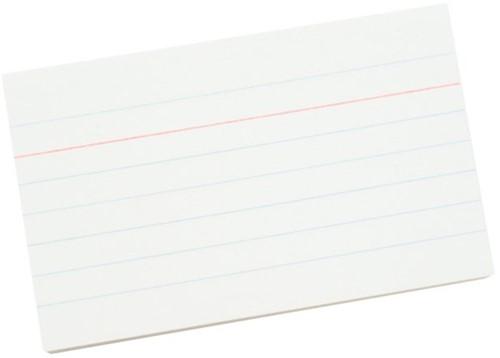 Systeemkaarten lijn 55x90mm