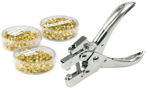 Hechtringen KW-trio 4.2mm 15vel 250stuks koper-2