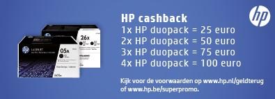 Tonercartridge HP CE310AD 126A zwart 2x-3